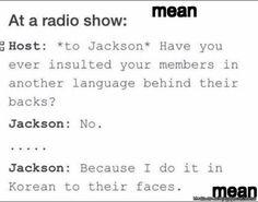 Why Jackson is the best   allkpop Meme Center
