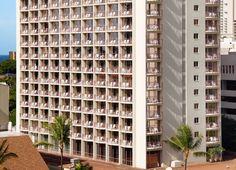 Aqua Waikiki Wave Hotel is in the heart of Waikiki, just 1 block to Waikiki Beach. #Waikiki #Hawaii #AquaHotels #AquaWaikikiWave
