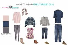 What to Wear Guide Early Spring - Maryland Family Photographer - Cameo Danone Spring Family Pictures, Family Pictures What To Wear, Family Pics, Fall Pictures, Family Picture Colors, Family Picture Outfits, Family Portrait Outfits, Family Portraits, Quoi Porter