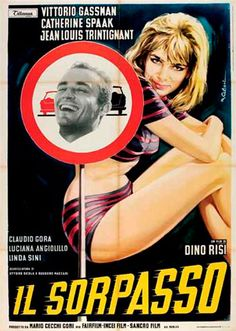 "1963- Mejor Director: Dino Risi, por ""Il Sorpasso"".                                                                       #FilmFest #MardelPlata #MDQ #Cine"