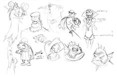 Jeff Merghart - Character Design Page