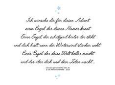 """""""Ich wünsche dir einen Engel ..."""" Adventsgedicht + Geschenktipps rund um den Engel"""