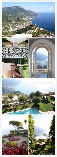 Amalfi coast, ITALY!! PalazZo Sasso hotel!! where we honeymooned. hope to go back one day <3