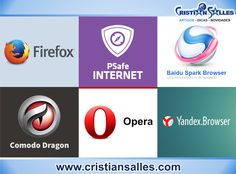 Confira 6 Navegadores alternativos ao Google Chrome e Internet Explorer | Blogsite Oficial - CRISTIAN SALLES