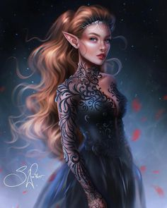 A Court Of Wings And Ruin, A Court Of Mist And Fury, Roses Book, Feyre And Rhysand, Sarah J Maas Books, Fanart, Crescent City, Fantasy Artwork, Book Characters