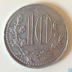 Coins - Algeria - Algeria 10 centimes 1919