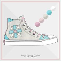 Hope you like it. Espero que gostem <3 #shoedesign #fashiondesign #shoes #casualshoes #canvas #diamonds