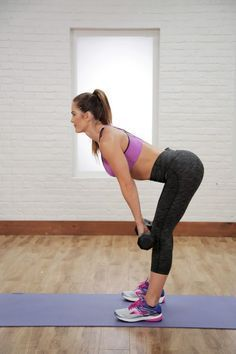 Whether You're a Beginner or a Pro, This Workout Will Tone Your Entire Body| Posted By: AdvancedWeightLossTips.com Body Type Workout, Video Sport, Fitness Motivation, 30 Minute Workout, Strength Training Workouts, Toning Workouts, Dumbbell Workout, Workout Videos, Exercise Videos