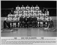 The 1988-1989 New York Islanders.