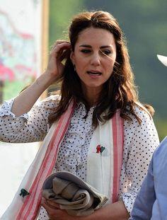 Royal Family Around the World: Prince William, Duke of Cambridge and Catherine, Duchess Of Cambridge Visit India and Bhutan - Day 4 on April 13, 2016 in Kaziranga, India.