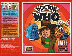 John Kenneth Muir's Reflections on Cult Movies and Classic TV: Doctor Who (Fourth Doctor) Letraset (1979)