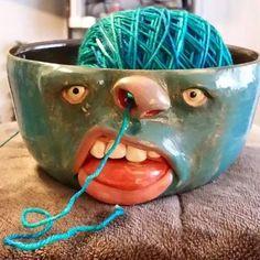 Миска для пряжи