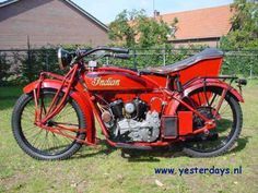 1926 Indian Scout Combination, 600ccThe Scout features a semi-unit construction power plant with a 3 –speed transmission bolted on to it. Primary drive is by a set of helical gears that are enclosed in a cast aluminium cover and run in an oil bath. The clutch is foot-controlled.