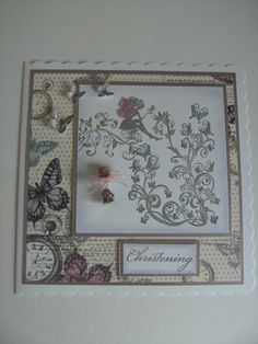 Fairy Christening Card.