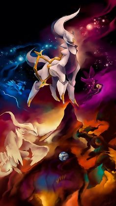 Legendary Dragon Pokemon(tell me if you spot giratina!:)