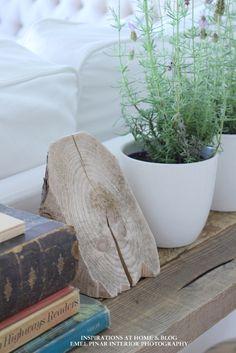 wood / rustic decor