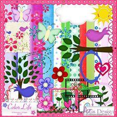 Lis Design: Kit Color Life - Freebie