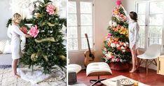 Žeby nový trend Vianoc?Ľudia si zdobia vianočné stromčeky kvetmi. Už ste videli takto zdekorované stromčeky? Vianočné stromčeky zdobené kvetmi
