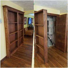 How To Make A Secret Door Room Or Closet In 2018