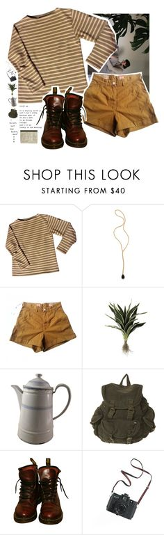 """faites des bêtises, mais faites-les avec enthousiasme"" by gennabug00 ❤ liked on Polyvore featuring Saint James, Jacquie Aiche, Levi's Made & Crafted, Alöe, Granite Ware, Dr. Martens, Madewell and country"