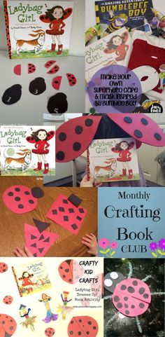 """Babies to Bookworms provides fun crafts and learning activities to pair with """"Ladybug Girl and Bingo"""" by David Soman and Jacky Davis."""