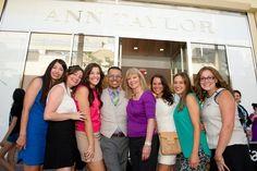 Ann taylor vip event at san diego fashion valley san diego magazine