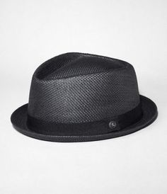 Black Straw Fedora l Hats Straw Fedora, Fedora Hats, Fedora Men, Men's Hats, Stylish Hats, Stylish Men, Who The Cap Fit, Cool Hats, Gentleman Style
