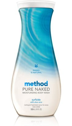 the most planet-friendly thing you can do in the nude naked is natural. it's pure. it's undisguised. just like our body wash. which is packed with rich moisturizers without containing any dirty stuff, like parabens, phthalates or EDTA. it simply leaves your birthday suit soft, clean and party ready. not to mention delicately scented in a fresh, nature-inspired fragrance.