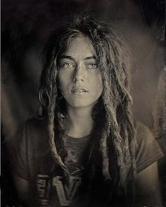 Kyleigh Portrait 2 by quinnjacobson, via Flickr -- Portrait - Dreads - Dreadlocks - Black and White - Photography - Pose