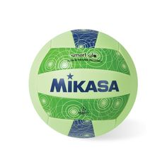 Mikasa Smart Glo Glow in the Dark Outdoor Volleyball, Multicolor