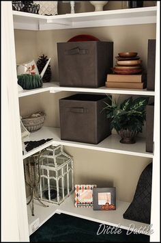 closet-shelving in spare bedroom closet Spare Bedroom Closets, Master Bedroom, Closet Organization, Organization Ideas, Organizing, Kitchen And Bath, Kitchen Tips, Kitchen Ideas, Storage Ideas