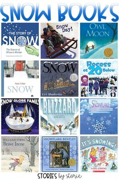 Even if the snow doesn't fall over your town this year, you can bring the snow to life with some great snow books for kids. Here are some books about snow that are sure to warm the hearts of your students all winter long.