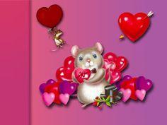 Anikó díszítö blogja: Valentin napra képek Valentine Wallpaper Hd, Disney Desktop Wallpaper, Computer Wallpaper, Feliz Gif, Special Wallpaper, Buenos Dias Quotes, Disney Valentines, Drawing Interior, Valentine Day Special