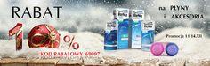 Rabat 10 %  na płyny i akcesoria w dniach 11-12 grudnia!