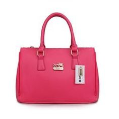 Coach - Madison Leather Lindsey Satchel in PINK! SO NICE #Coach #purse #fashion #satchel