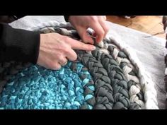 DiY How To Make A BRAIDED FABRIC RUG - YouTube