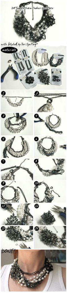 La manera de DIY: 15 Increíble collar lindos tutoriales