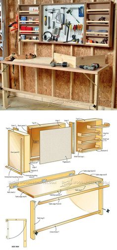 Fold+Down+Worktable+Plans+-+Workshop+Solutions+Projects,+Tips+and+Tricks+ +WoodArchivist.com