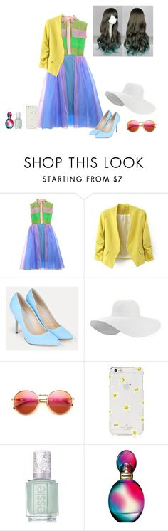 """""""?¿?¿?"""" by superwholock22 ❤ liked on Polyvore featuring JustFab, Wildfox, Kate Spade, Essie and Missoni"""