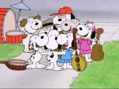 Snoopy Reunião de Família
