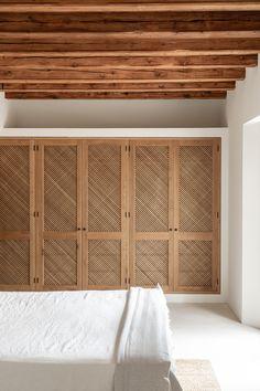 Interior design project at Alaró village, Mallorca Home Bedroom, Bedroom Decor, Bali Bedroom, Bedrooms, Interior Architecture, Interior And Exterior, Wardrobe Doors, Closet Doors, Cheap Home Decor
