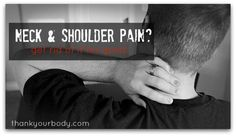 Reduce neck and shoulder tension with these simple tips.