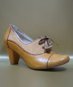 Take a look at this Mustard Madison Oxford Pump by Chelsea Crew on #zulily today! $36.99, regular 75.00. Sale ends in 2 days, 7 hours. In otherwords, sale ends on Saturday, June 8th in the evening.