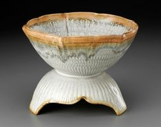 Chattered Bowl with Base