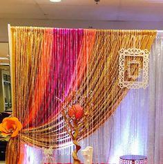 Desi Wedding Decor, Wedding Mandap, Wedding Ceremony Backdrop, Simple Birthday Decorations, Wedding Stage Decorations, Bridal Shower Decorations, Mehndi Decor, Mehendi, Diwali Diy