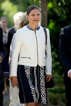 """Crown Princess Victoria attended  the seminar """"The future of the United Nations: Reflections from Kofi Annans book Interventions - A life in war and peace""""  in the University of Uppsala, Sweden."""
