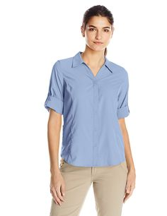 Royal Robbins Women's Expedition Stretch Shirt * This is an Amazon Affiliate link. Be sure to check out this awesome product.