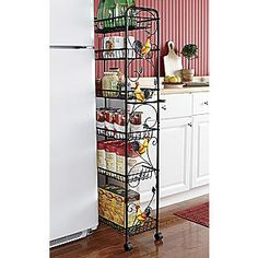 Slim Storage Cart, Rooster from Montgomery Ward®