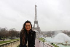 The Eiffel Tower - Paris, France - February 14, 2014 - with Destiny Kanu