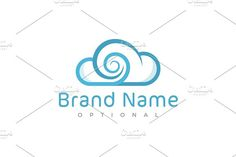 For sale. Only $29 - technology, cloud, fusion, vortex, spiral, whirl, wind, portal, alliance, collaboration, solution, blue, memorable, modern, simple, abstract, swirl, maelstrom, merge, sky, intersection, link, bond, information, weather, logo, design, template,